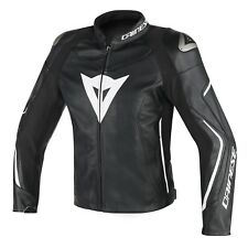 DAINESE MANGIATO Lady Donna Giacca Motociclista Giacca in pelle Corsa Sport