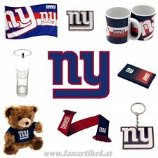 New York Giants Fanshop - NFL Football Fanartikel -  Schal Fahne Pin Tasse uvm.