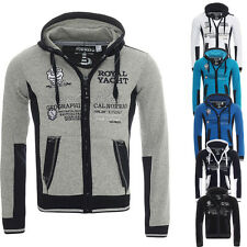 GEOGRAPHICAL NORWAY gersozon à capuche veste sweat pull cardigan S-XXL