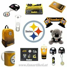 Pittsburgh Steelers Fanshop - NFL Football Fanartikel - Schal Fahne Wimpel Pin