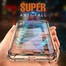 For iPhone X 6 6s 7 8 Plus Protective Hybrid Shockproof Soft Clear Case Cover US