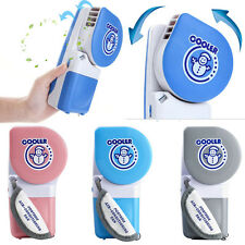 Mini Portable Hand Fan Cooler Cooling USB Rechargeable Air Conditioner Battery