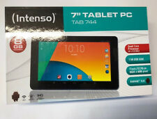 "INTENSO Tab 744 17,7cm 7"" Tablet Quad Core 1GHz 1GB RAM 8GB HDD Android OPEN BOX"