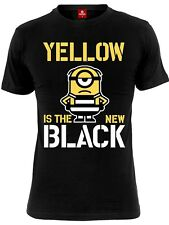 Minions Yellow New Black Herren T-Shirt Schwarz