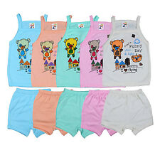 Fashion Biz New Born Baby Boys & Baby Girls Colourful Collection (Pack Of 5)