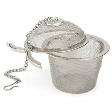 Perfect tea strainer,Stainless Steel Tea Filter Infuser, 6.5cm, Silver