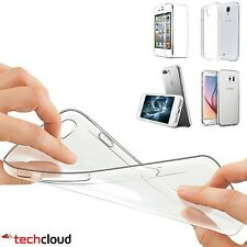 TPU Ultra Thin Soft Clear Silicone Gel Transparent Case Cover For Samsung iPhone