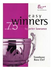 Easy Winners For Trombone (Bass Clef). Sheet Music