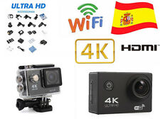 Ultra HD WiFi Full HD 1080p 170° 12Mp DV DVR Cámara Deportiva 30M Videocámara
