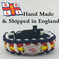 RNLI Badged Survival Bracelet by Tactical Edge 10% Goes To RNLI Charity