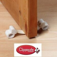 Clippasafe Under Door Gripper - Child Safety Door Stop, Choose Quantity