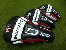 Wilson Staff Golf D-100 D100 Headcovers - Driver, Fairway Wood, Hybrid