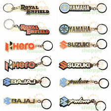 BUY 1 GET 1 Famous Bike Brands Silicon Rubber Key Chain Ring for Bike & Car KCBK