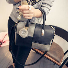 New Women Handbag Shoulder Bags Tote Purse PU Lady Messenger Hobo Bag
