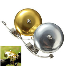 Cycle Push Ride Bike Loud Sound One Touch Bell Vintage Bicycle Handlebar New UK