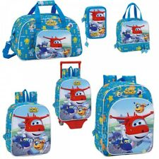 Super Wings Backpack Rucksack Travel Lunch Holiday Duffel School Bag OFFICIAL