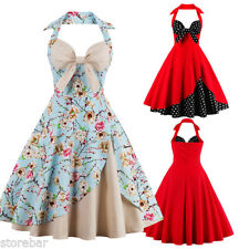 Robe Pin Up Rockabilly Retro Vintage années 50s 60s Swing Robes de Bal Dress