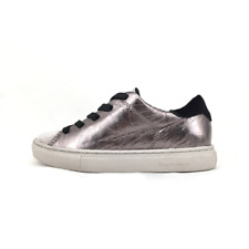 Crime London 55451 scarpa bambina sneakers alta in pelle e glitter rame