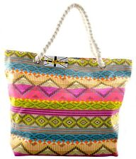 OCTAVE® Ladies Summer Beach Tote Handbags Collection - Various Styles & Colours