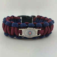 Coldstream Guards Badged Survival Bracelet by Tactical Edge.