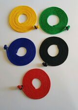 Falconry Set of 5 welded knot button leashes 5mm - Strongest On The Market