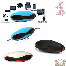 Portable Wireless Bluetooth Speaker 3D Sound System - USB - TF Card X6 Mini