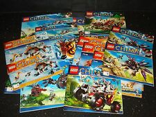 Lego Legends of Chima 1x Set of Instructions - Multiple Variations!
