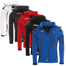 Geographical Norway Uomo Giacca Softshell Outdoor PIOGGIA SPORT