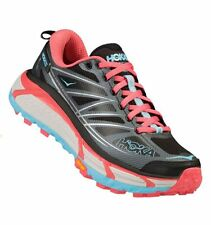 Hoka One One Mafate Speed 2 Women Anthracite Blue Topaz scarpe corsa trail run