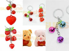 BUY 1 GET 1 Gifts Keychain Ring Red Kiss True Love You Heart For Her & Him 02