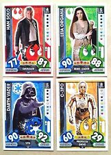 STAR WARS UNIVERSE 2017 FORCE ATTAX BASE & BOOST CARDS # 1-224 - ADD TO BASKET