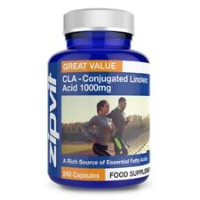 Conjugated Linoleic Acid CLA - 1000mg Capsules - Highest Purity