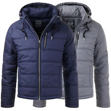 Sublevel H5273 Winter Übergangs Jacke Mantel Parka Herbst Parker Navy Grey S-XL