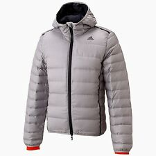 adidas Super Down Quilted Bomber Jacket Coat NEW with TAGS ClimaHeat 700 M L