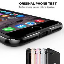 For iPhone 8 Edition 7s 6s Plus Case Metal Aluminum+Silcione Rugged Bumper Cover