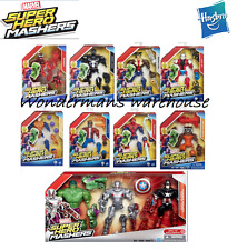 Marvel Super Hero Mashers Battle Packs: Wolverine/Spiderman/Hulk/Ultron - New!