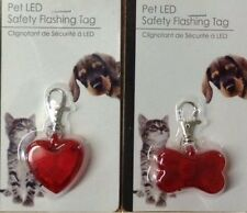 Pet LED Safety Flashing Tag For Dogs and Cats OR Children School Bags