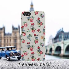 Disney Minnie Flower Pattern Phone Case Cover For iPhone, Samsung, Huawei, Nokia