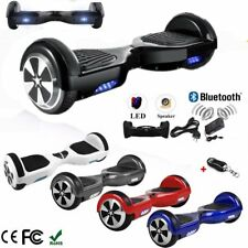 "HOVERBOARD 6.5"" LUCI LED E BLUETOOTH SPEAKER SCOOTER OVERBOARD VARI COLORI @R"