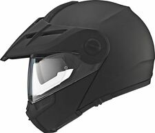 Schuberth E1 casco plegable Adventure Casco Mate Negro Todoterreno + ONROAD