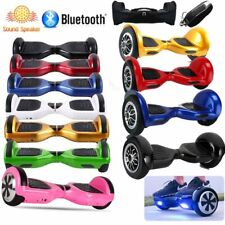 "10"" Scooter Electrico Patinete Monociclo Hoverboard Skateboard Bluetooth FR"