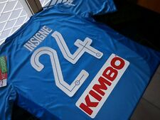 Maglia SSc NAPOLI Kappa 2017/18 Kombat Extra Serie A Home New maillot Insigne 24