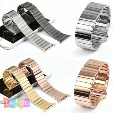 Stainless Steel Strap Watch band Classic Buckle For Apple Watch iWatch 38 42mm