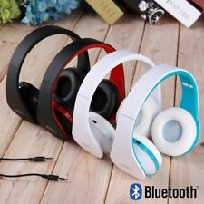 Bluetooth 3.0 Wireless Sans fil Casque Stéréo Audio Ecouteur phone Tablette ~Y