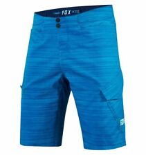 Pantaloncini Fox Ranger Cargo Heather Short azzurro MTB mountain bike enduro DH