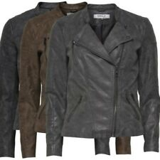 6831 Only Donna Pelle Motociclista Giacca PU ava giacca di pelle XS, S,M,L,XL