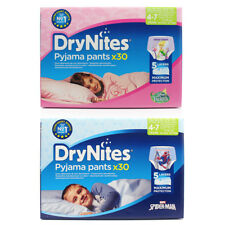 Huggies DryNites Girls/Boys 4-7 Pyjama Pants x30