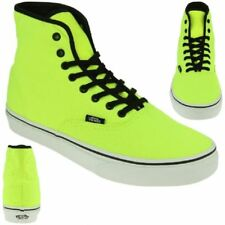 Vans Classic Authentic Lo Pro Baskets Skater Néon Jaune Neuf