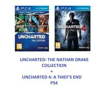 Uncharted 4 - The Nathan Drake Collection for PS4 Excellent - 1st Class Delivery