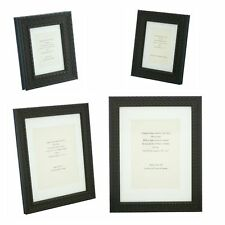 """Ornate Black Shabby Chic Vintage Picture Frame with white mount - 5""""x3.5"""" - A4"""